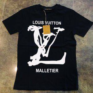 LOUIS VUITTON CASUAL T-SHIRT MEN'S %100 COTTON